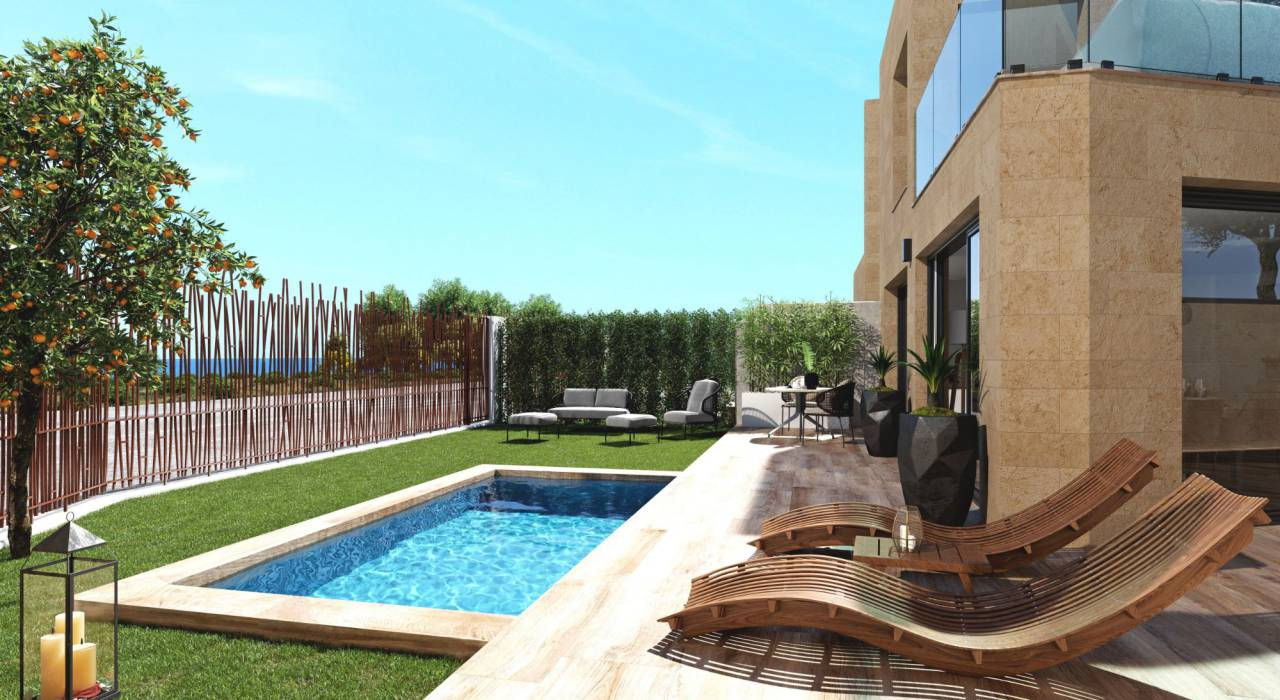 New Build - Stadthaus - Villajoyosa - Torres