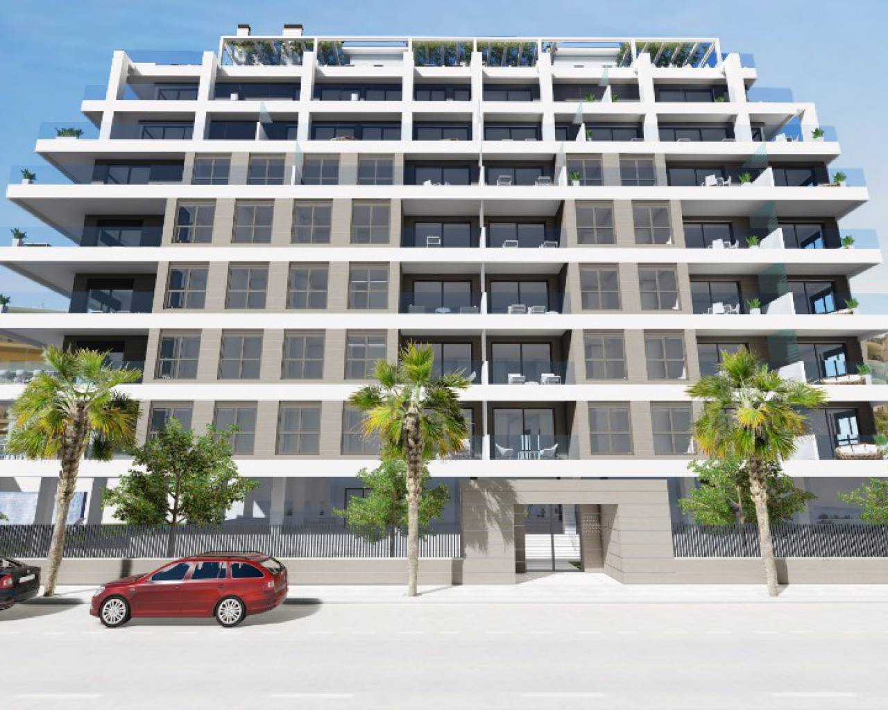 Wohnung - New Build - Calpe - Center