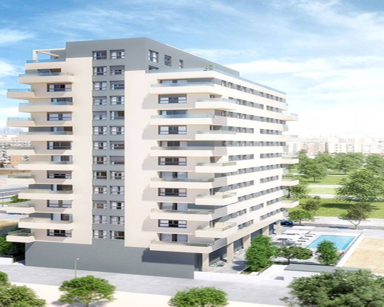 Wohnung - New Build - Valencia - Valencia