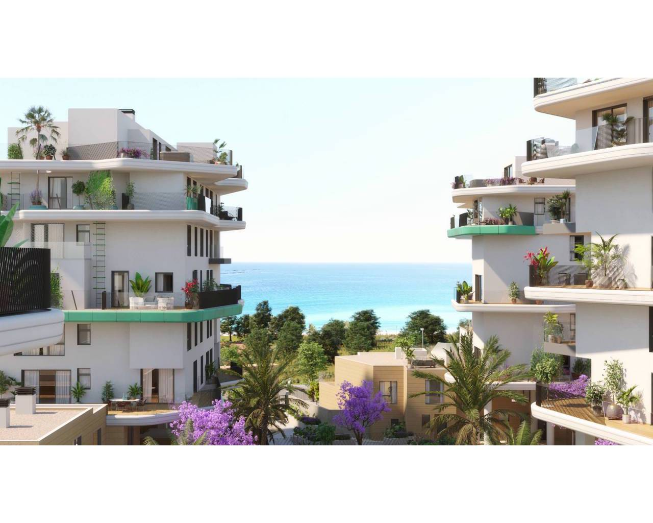 Wohnung - New Build - Villajoyosa - Torres